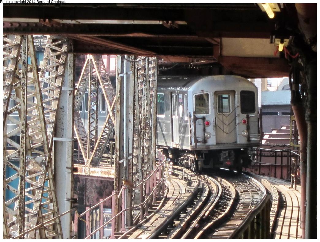 (385k, 1044x789)<br><b>Country:</b> United States<br><b>City:</b> New York<br><b>System:</b> New York City Transit<br><b>Line:</b> IRT Flushing Line<br><b>Location:</b> Queensborough Plaza<br><b>Route:</b> 7<br><b>Car:</b> R-62A (Bombardier, 1984-1987) 2062 <br><b>Photo by:</b> Bernard Chatreau<br><b>Date:</b> 4/9/2011<br><b>Viewed (this week/total):</b> 4 / 820