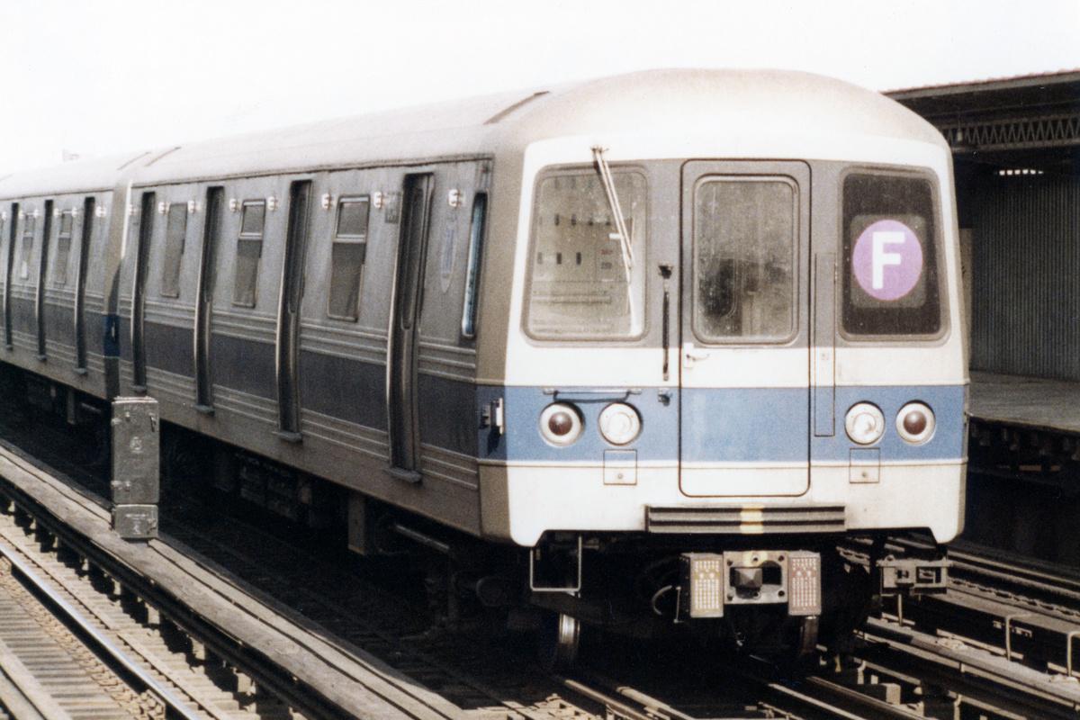 (447k, 1200x800)<br><b>Country:</b> United States<br><b>City:</b> New York<br><b>System:</b> New York City Transit<br><b>Line:</b> BMT Culver Line<br><b>Location:</b> Avenue U<br><b>Route:</b> F<br><b>Car:</b> R-46 (Pullman-Standard, 1974-75)  <br><b>Collection of:</b> Nicholas Fabrizio<br><b>Viewed (this week/total):</b> 4 / 412