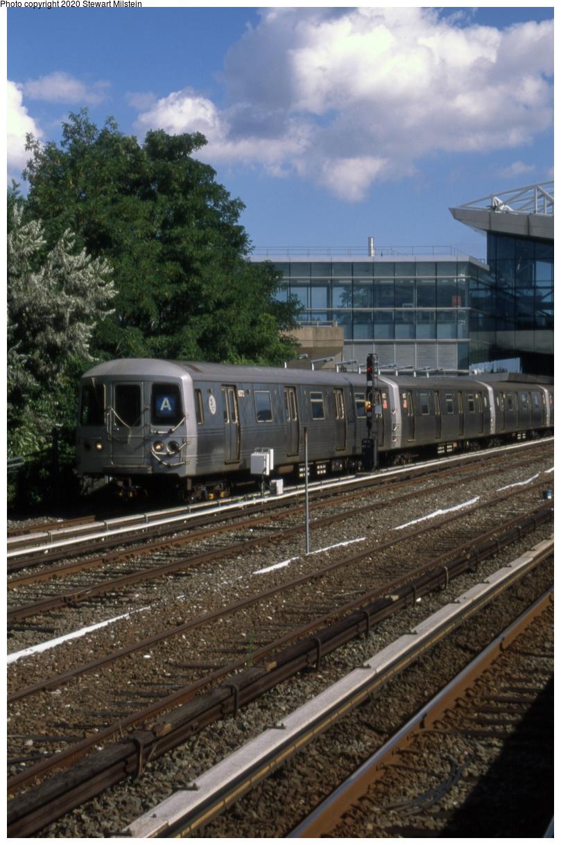 (451k, 809x1219)<br><b>Country:</b> United States<br><b>City:</b> New York<br><b>System:</b> New York City Transit<br><b>Line:</b> IND Rockaway Line<br><b>Location:</b> Howard Beach/JFK Airport<br><b>Route:</b> A<br><b>Car:</b> R-46 (Pullman-Standard, 1974-75) 6072 <br><b>Photo by:</b> Stewart Milstein<br><b>Date:</b> 8/4/2018<br><b>Viewed (this week/total):</b> 0 / 334