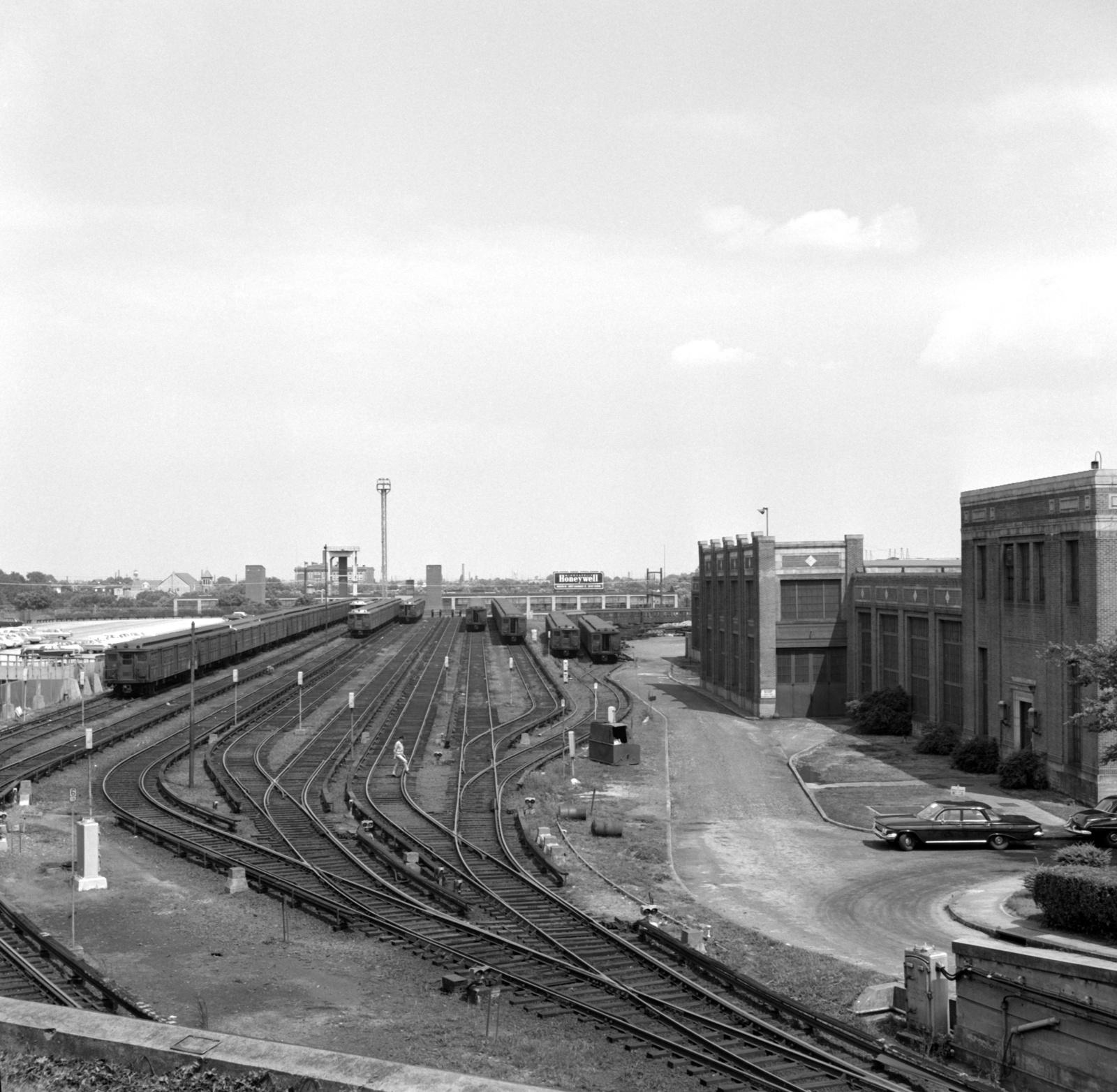 (708k, 1600x1564)<br><b>Country:</b> United States<br><b>City:</b> Philadelphia, PA<br><b>System:</b> SEPTA (or Predecessor)<br><b>Line:</b> Broad Street Subway<br><b>Location:</b> Fern Rock Yard/Shops<br><b>Collection of:</b> David Pirmann<br><b>Date:</b> 6/15/1963<br><b>Viewed (this week/total):</b> 1 / 84