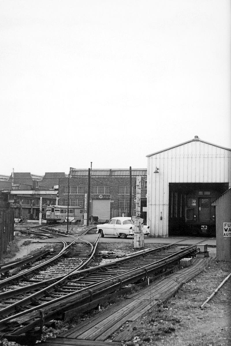 (318k, 800x1200)<br><b>Country:</b> United States<br><b>City:</b> New York<br><b>System:</b> New York City Transit<br><b>Location:</b> Coney Island Yard<br><b>Car:</b> Sperry Rail Service  <br><b>Collection of:</b> David Pirmann<br><b>Date:</b> 4/19/1964<br><b>Viewed (this week/total):</b> 0 / 237