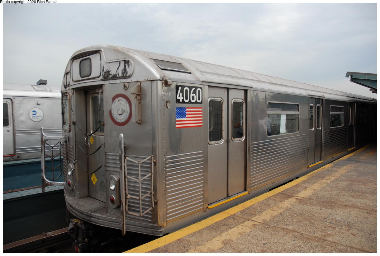 (346k, 1220x823)<br><b>Country:</b> United States<br><b>City:</b> New York<br><b>System:</b> New York City Transit<br><b>Line:</b> IND Fulton Street Line<br><b>Location:</b> Rockaway Boulevard<br><b>Route:</b> A<br><b>Car:</b> R-38 (St. Louis, 1966-1967) 4060 <br><b>Photo by:</b> Richard Panse<br><b>Date:</b> 6/17/2006<br><b>Viewed (this week/total):</b> 1 / 207