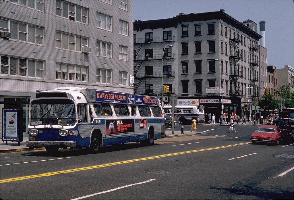 (268k, 1024x696)<br><b>Country:</b> United States<br><b>City:</b> New York<br><b>System:</b> MABSTOA<br><b>Route:</b> M16<br><b>Car:</b>  8338 <br><b>Photo by:</b> Steve Zabel<br><b>Collection of:</b> Joe Testagrose<br><b>Viewed (this week/total):</b> 3 / 1174
