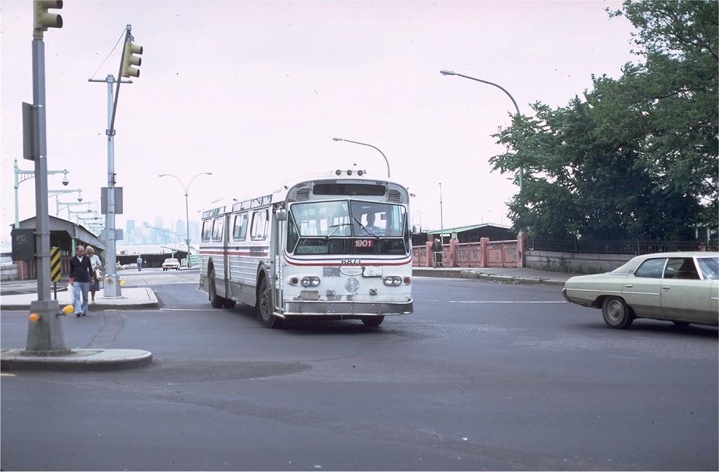 (155k, 1024x672)<br><b>Country:</b> United States<br><b>City:</b> New York<br><b>System:</b> New York City Transit<br><b>Location:</b> St. George<br><b>Route:</b> S103<br><b>Car:</b>  6871 <br><b>Photo by:</b> Doug Grotjahn<br><b>Collection of:</b> Joe Testagrose<br><b>Date:</b> 6/23/1981<br><b>Notes:</b> WMATA 6871 AS TA 1901<br><b>Viewed (this week/total):</b> 0 / 1250