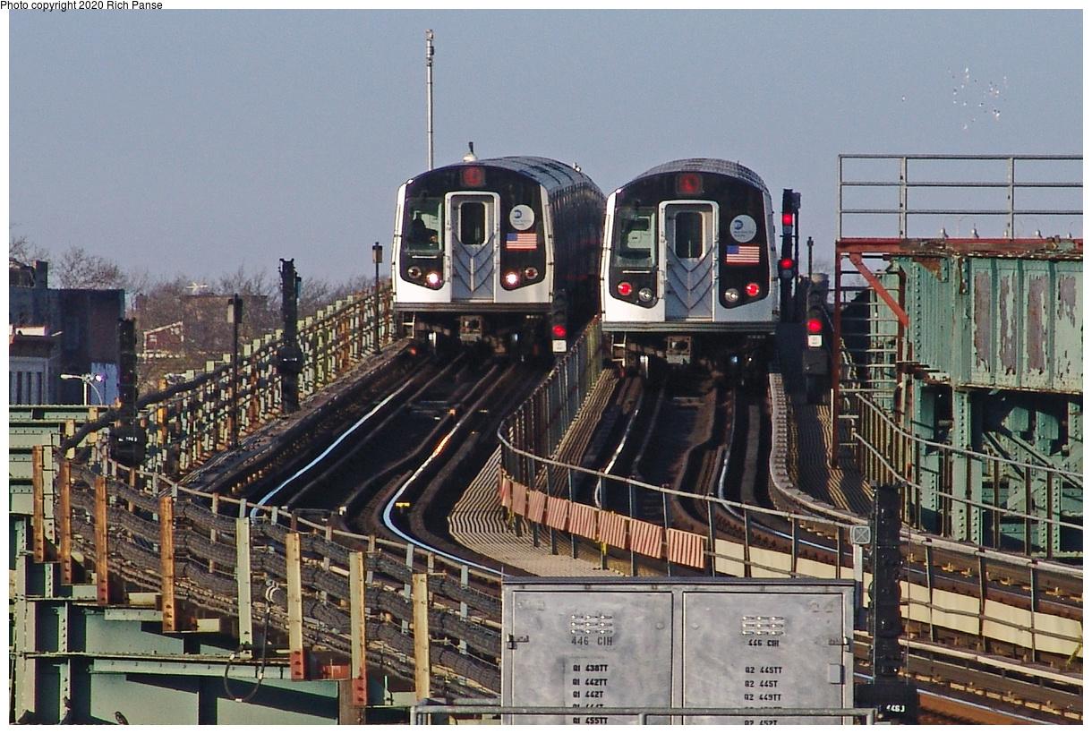 (511k, 1220x820)<br><b>Country:</b> United States<br><b>City:</b> New York<br><b>System:</b> New York City Transit<br><b>Line:</b> BMT Canarsie Line<br><b>Location:</b> Sutter Avenue<br><b>Route:</b> L<br><b>Car:</b> R-143 (Kawasaki, 2001-2002)  <br><b>Photo by:</b> Richard Panse<br><b>Date:</b> 1/1/2005<br><b>Viewed (this week/total):</b> 3 / 338