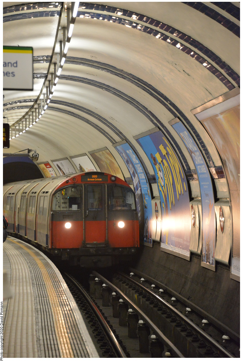 (435k, 821x1220)<br><b>Country:</b> United Kingdom<br><b>City:</b> London<br><b>System:</b> London Underground<br><b>Line:</b> Piccadilly<br><b>Location:</b> South Kensington<br><b>Car:</b> 1973 Tube Stock  <br><b>Photo by:</b> David Pirmann<br><b>Date:</b> 5/5/2016<br><b>Viewed (this week/total):</b> 0 / 63