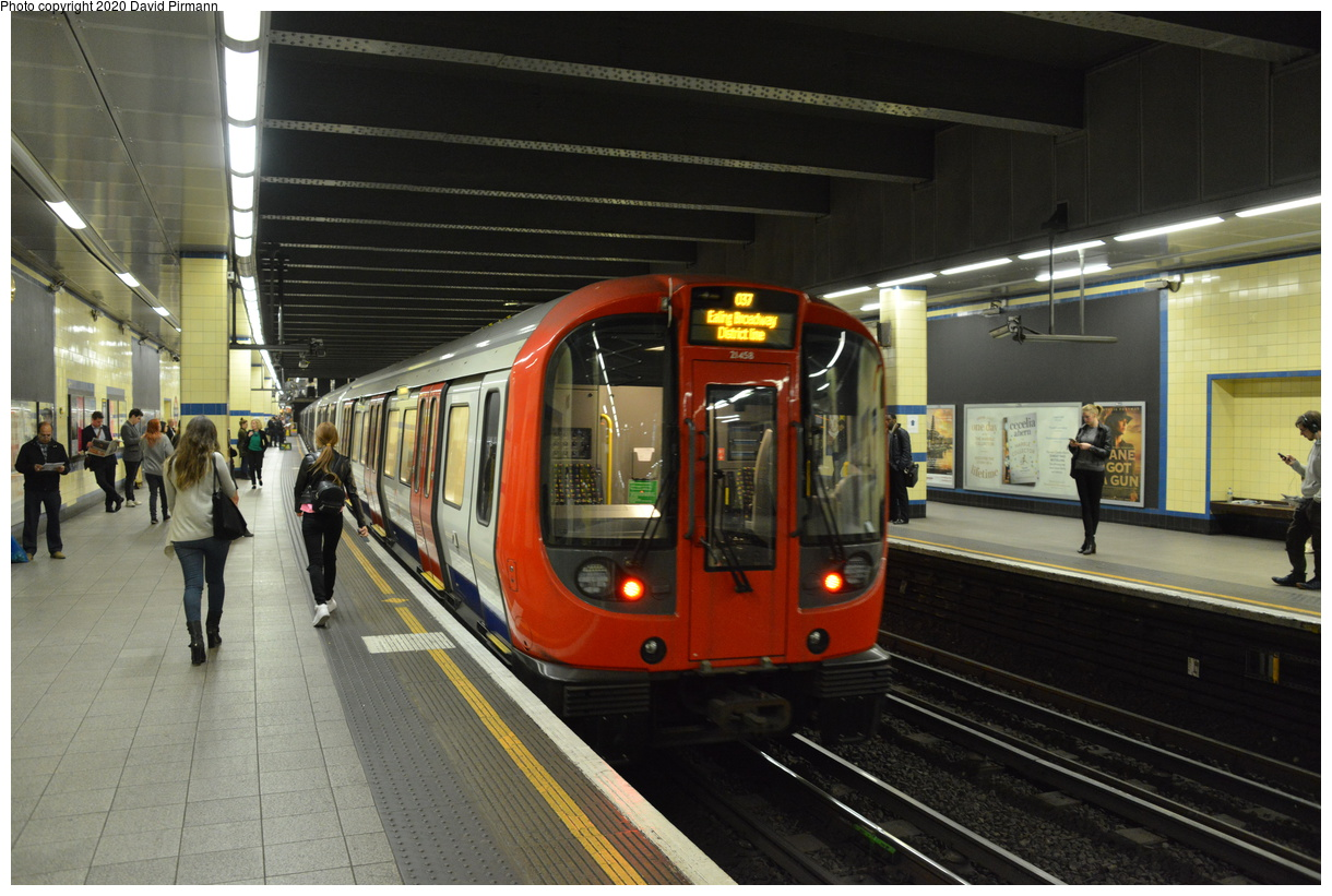 (400k, 1220x821)<br><b>Country:</b> United Kingdom<br><b>City:</b> London<br><b>System:</b> London Underground<br><b>Line:</b> District<br><b>Location:</b> Aldgate East<br><b>Car:</b> S Stock (Bombardier, 2010-2013) 21458 <br><b>Photo by:</b> David Pirmann<br><b>Date:</b> 5/5/2016<br><b>Viewed (this week/total):</b> 1 / 64