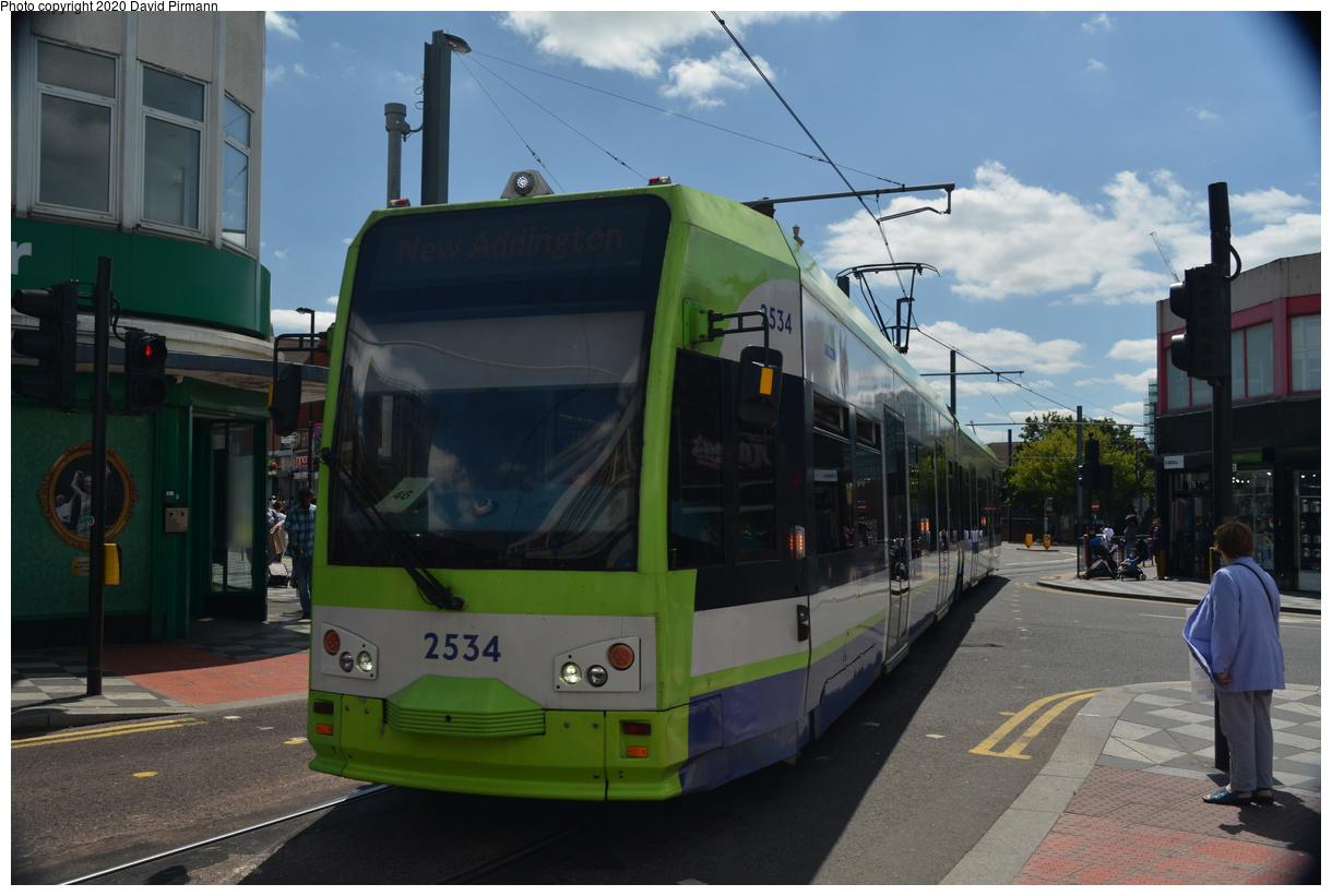 (336k, 1220x821)<br><b>Country:</b> United Kingdom<br><b>City:</b> London<br><b>System:</b> London Tramlink<br><b>Location:</b> West Croydon<br><b>Car:</b>  2534 <br><b>Photo by:</b> David Pirmann<br><b>Date:</b> 7/1/2019<br><b>Viewed (this week/total):</b> 1 / 104