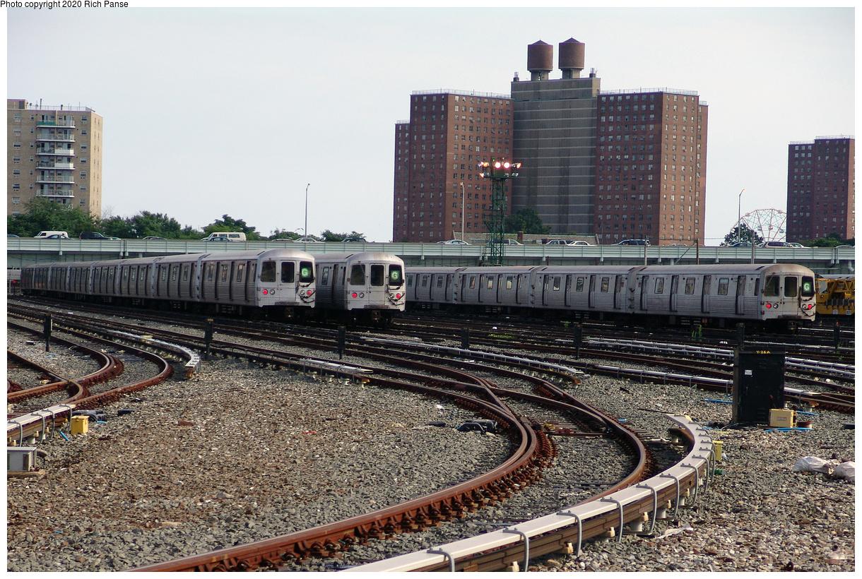 (614k, 1220x820)<br><b>Country:</b> United States<br><b>City:</b> New York<br><b>System:</b> New York City Transit<br><b>Location:</b> Coney Island Yard<br><b>Car:</b> R-46 (Pullman-Standard, 1974-75)  <br><b>Photo by:</b> Richard Panse<br><b>Date:</b> 7/25/2004<br><b>Viewed (this week/total):</b> 3 / 181