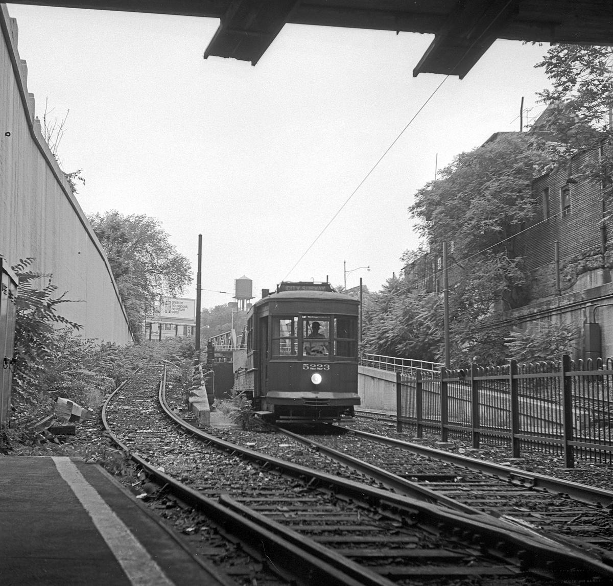 (596k, 1200x1147)<br><b>Country:</b> United States<br><b>City:</b> Newark, NJ<br><b>System:</b> Newark City Subway<br><b>Location:</b> Norfolk Street<br><b>Car:</b>  5223 <br><b>Collection of:</b> David Pirmann<br><b>Date:</b> 7/5/1965<br><b>Viewed (this week/total):</b> 1 / 102