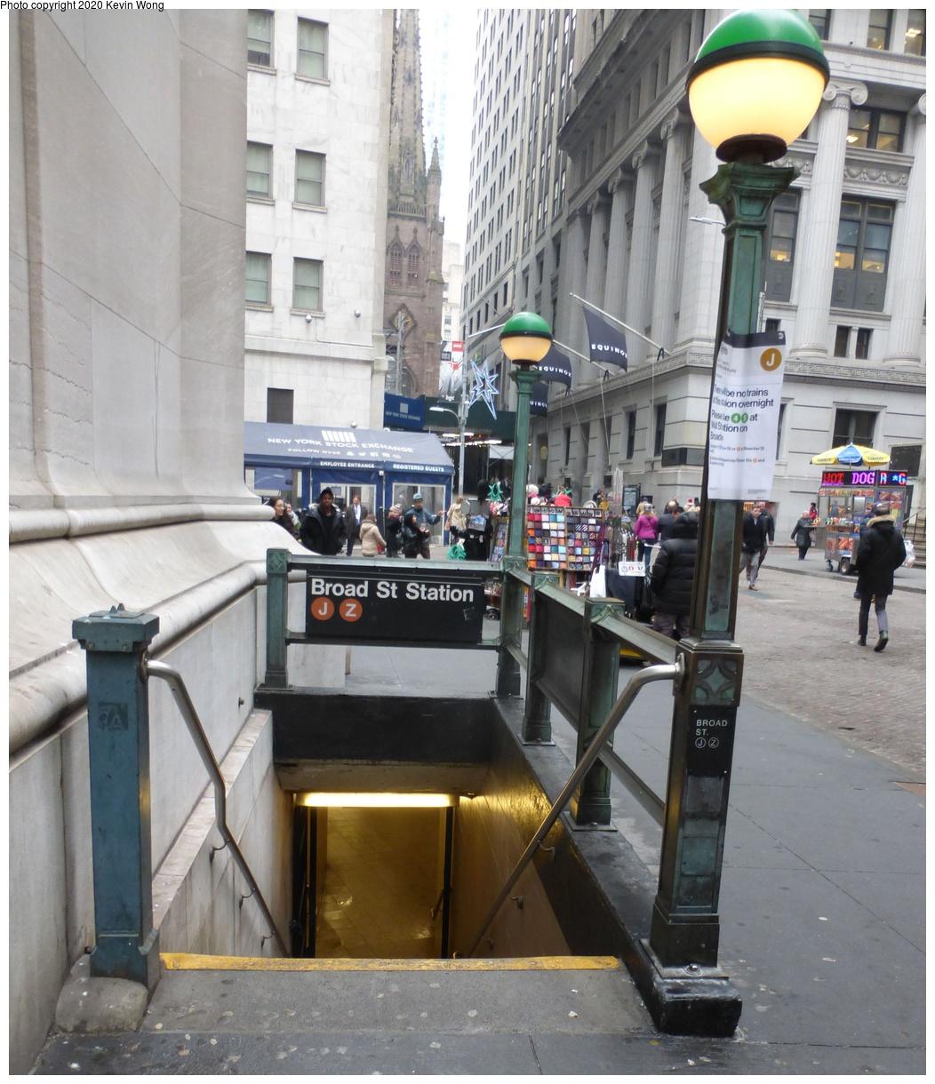 (458k, 1052x1220)<br><b>Country:</b> United States<br><b>City:</b> New York<br><b>System:</b> New York City Transit<br><b>Line:</b> BMT Nassau Street-Jamaica Line<br><b>Location:</b> Broad Street<br><b>Photo by:</b> Kevin Wong<br><b>Date:</b> 1/18/2019<br><b>Viewed (this week/total):</b> 2 / 345
