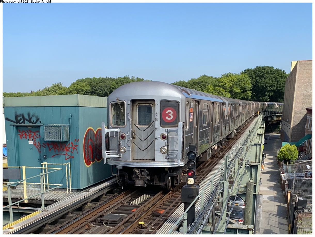 (391k, 1220x920)<br><b>Country:</b> United States<br><b>City:</b> New York<br><b>System:</b> New York City Transit<br><b>Line:</b> IRT Brooklyn Line<br><b>Location:</b> Sutter Avenue/Rutland Road<br><b>Route:</b> 3<br><b>Car:</b> R-62 (Kawasaki, 1983-1985) 1311 <br><b>Photo by:</b> Booker Arnold<br><b>Date:</b> 6/19/2020<br><b>Viewed (this week/total):</b> 2 / 846