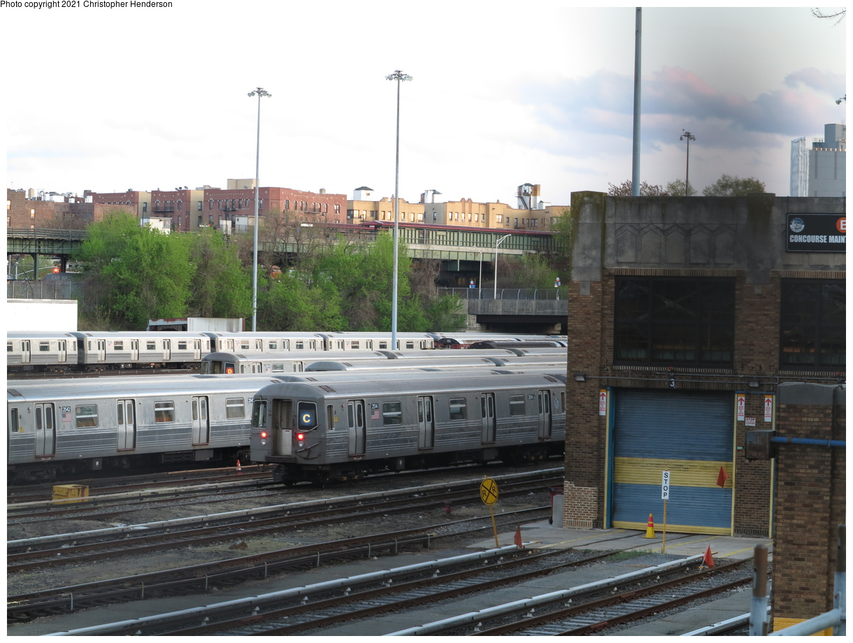 (391k, 1220x920)<br><b>Country:</b> United States<br><b>City:</b> New York<br><b>System:</b> New York City Transit<br><b>Location:</b> Concourse Yard<br><b>Car:</b> R-68 (Westinghouse-Amrail, 1986-1988) 2514 <br><b>Photo by:</b> Christopher Henderson<br><b>Date:</b> 4/25/2021<br><b>Viewed (this week/total):</b> 4 / 137