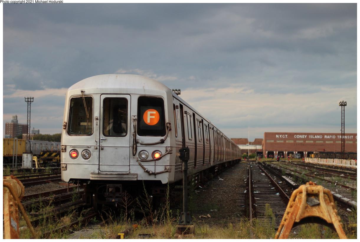 (342k, 1220x820)<br><b>Country:</b> United States<br><b>City:</b> New York<br><b>System:</b> New York City Transit<br><b>Location:</b> Coney Island Yard<br><b>Car:</b> R-46 (Pullman-Standard, 1974-75) 5544 <br><b>Photo by:</b> Michael Hodurski<br><b>Date:</b> 9/8/2019<br><b>Viewed (this week/total):</b> 0 / 145