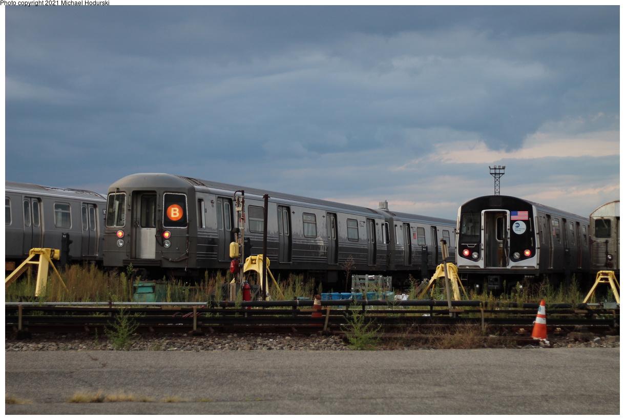 (328k, 1220x820)<br><b>Country:</b> United States<br><b>City:</b> New York<br><b>System:</b> New York City Transit<br><b>Location:</b> Coney Island Yard<br><b>Car:</b> R-68 (Westinghouse-Amrail, 1986-1988) 2790 <br><b>Photo by:</b> Michael Hodurski<br><b>Date:</b> 9/8/2019<br><b>Viewed (this week/total):</b> 0 / 119