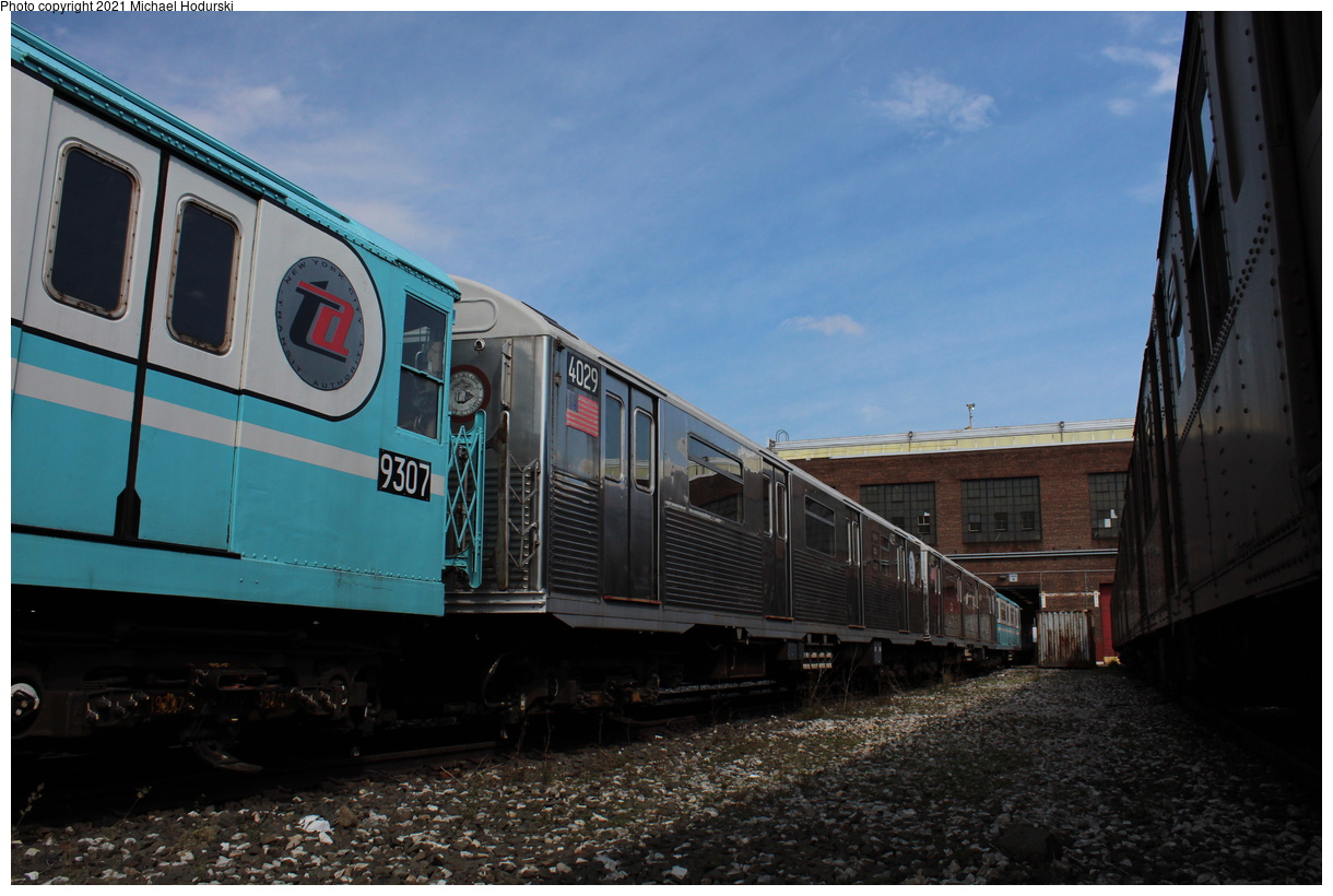 (359k, 1220x820)<br><b>Country:</b> United States<br><b>City:</b> New York<br><b>System:</b> New York City Transit<br><b>Location:</b> 207th Street Yard<br><b>Car:</b> R-38 (St. Louis, 1966-1967) 4029 <br><b>Photo by:</b> Michael Hodurski<br><b>Date:</b> 9/26/2019<br><b>Viewed (this week/total):</b> 0 / 128