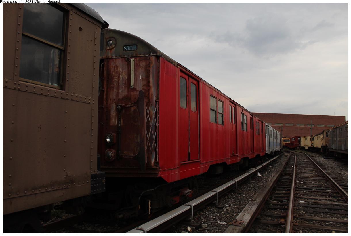 (285k, 1220x820)<br><b>Country:</b> United States<br><b>City:</b> New York<br><b>System:</b> New York City Transit<br><b>Location:</b> Coney Island Yard-Museum Yard<br><b>Car:</b> R-16 (American Car & Foundry, 1955) 6339 <br><b>Photo by:</b> Michael Hodurski<br><b>Date:</b> 9/26/2019<br><b>Viewed (this week/total):</b> 1 / 186