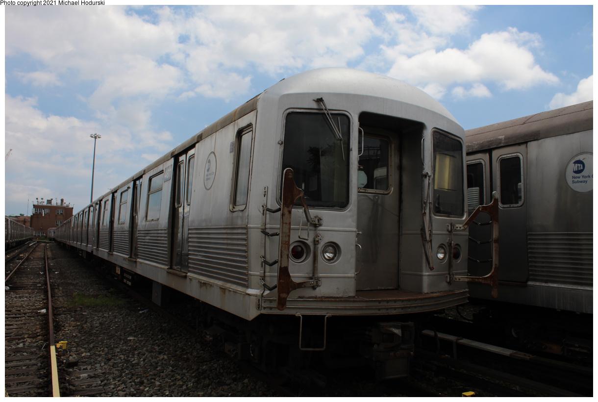 (298k, 1220x820)<br><b>Country:</b> United States<br><b>City:</b> New York<br><b>System:</b> New York City Transit<br><b>Location:</b> Fresh Pond Yard<br><b>Car:</b> R-42 (St. Louis, 1969-1970) 4811 <br><b>Photo by:</b> Michael Hodurski<br><b>Date:</b> 7/15/2020<br><b>Viewed (this week/total):</b> 0 / 106