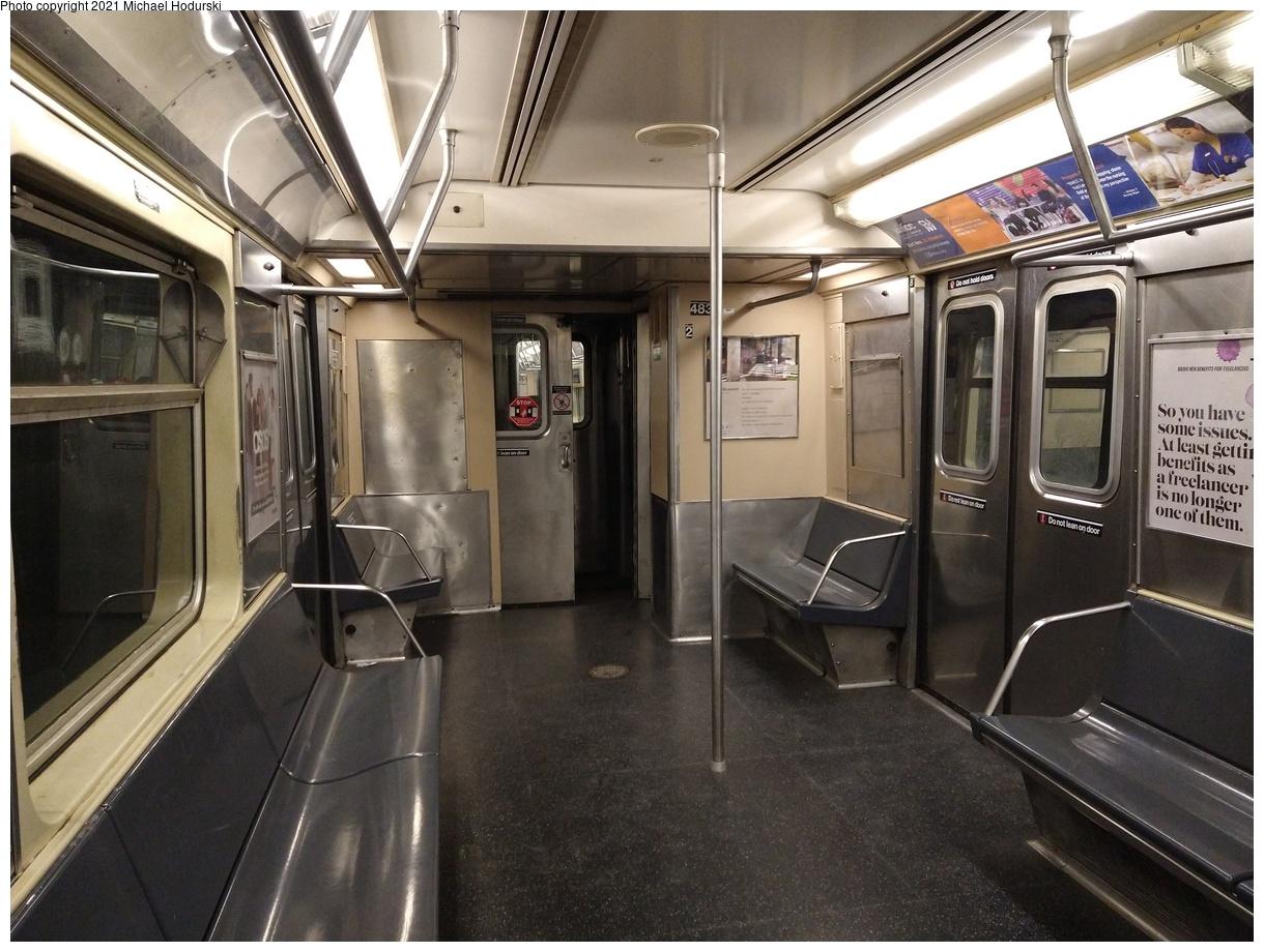 (549k, 1220x920)<br><b>Country:</b> United States<br><b>City:</b> New York<br><b>System:</b> New York City Transit<br><b>Car:</b> R-42 (St. Louis, 1969-1970) 4835 <br><b>Photo by:</b> Michael Hodurski<br><b>Date:</b> 1/28/2021<br><b>Viewed (this week/total):</b> 1 / 551
