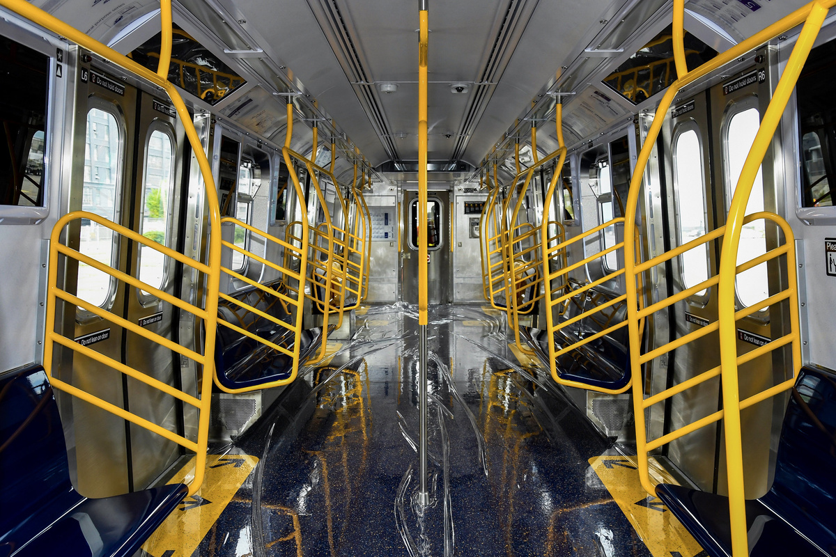 (597k, 1200x800)<br><b>Country:</b> United States<br><b>City:</b> New York<br><b>System:</b> New York City Transit<br><b>Car:</b> R-211 (Kawasaki, 2021-) 4060 <br><b>Photo by:</b> Marc A. Hermann / Metropolitan Transportation Authority<br><b>Date:</b> 7/1/2021<br><b>License:</b> <a href=https://creativecommons.org/licenses/by/2.0/>Creative Commons Attribution 2.0 Generic</a> via Flickr. <br><b>Notes:</b> Unveiling of the R-211 press event.<br><b>Viewed (this week/total):</b> 22 / 643