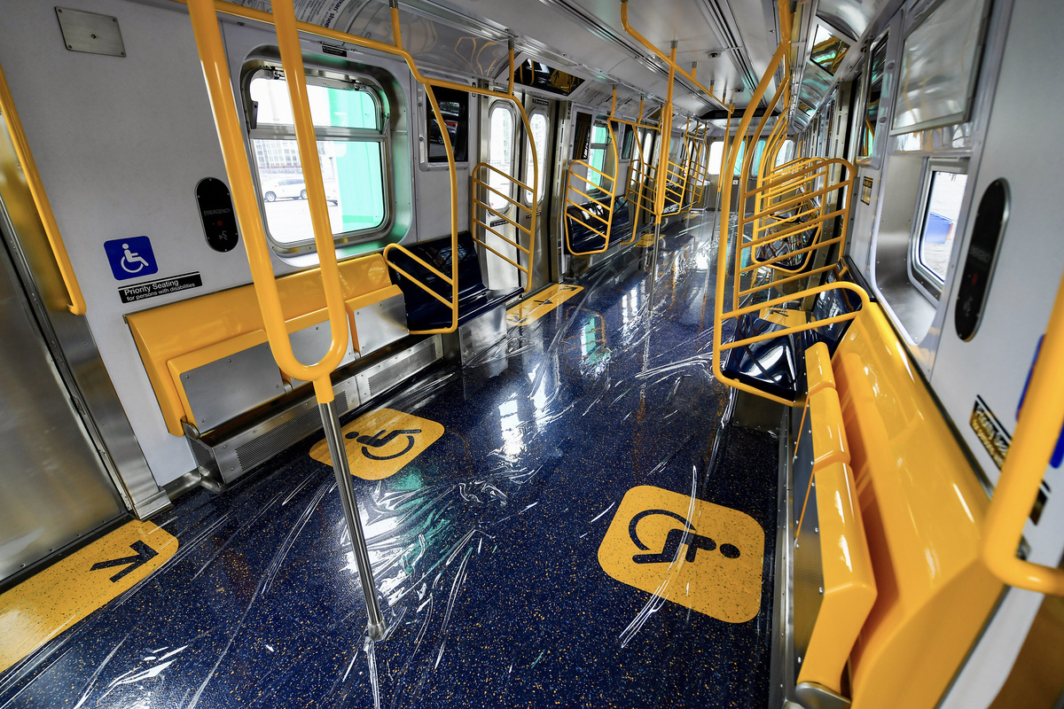 (628k, 1200x800)<br><b>Country:</b> United States<br><b>City:</b> New York<br><b>System:</b> New York City Transit<br><b>Car:</b> R-211 (Kawasaki, 2021-) 4060 <br><b>Photo by:</b> Marc A. Hermann / Metropolitan Transportation Authority<br><b>Date:</b> 7/1/2021<br><b>License:</b> <a href=https://creativecommons.org/licenses/by/2.0/>Creative Commons Attribution 2.0 Generic</a> via Flickr. <br><b>Notes:</b> Unveiling of the R-211 press event.<br><b>Viewed (this week/total):</b> 7 / 362