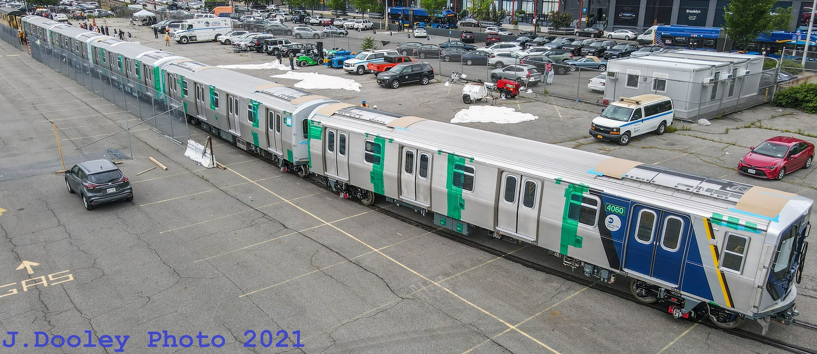 (629k, 1600x694)<br><b>Country:</b> United States<br><b>City:</b> New York<br><b>System:</b> New York City Transit<br><b>Car:</b> R-211 (Kawasaki, 2021-) 4060-4064 <br><b>Photo by:</b> John Dooley<br><b>Date:</b> 7/1/2021<br><b>Notes:</b> R-211 delivery and press conference.<br><b>Viewed (this week/total):</b> 3 / 502