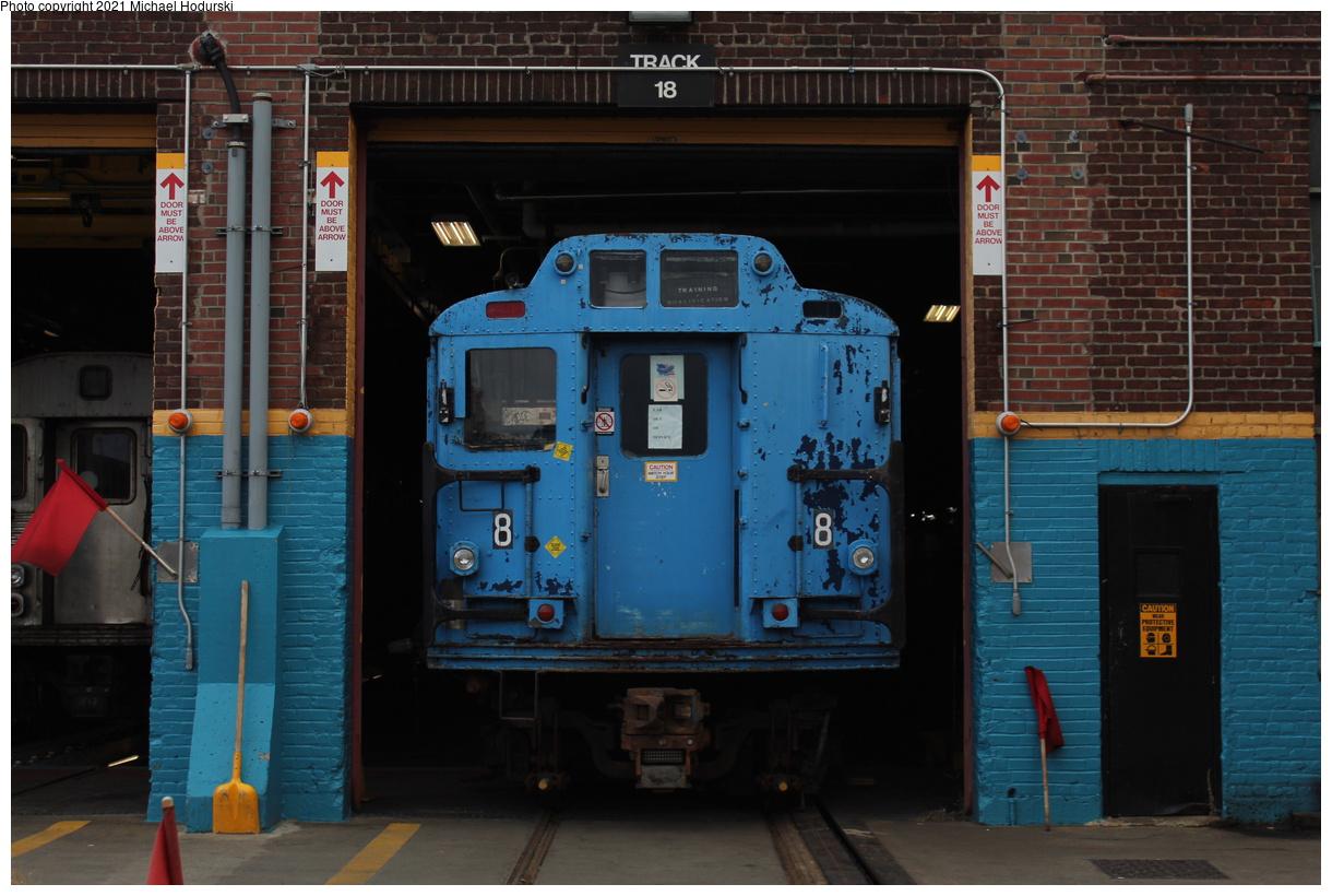 (379k, 1220x820)<br><b>Country:</b> United States<br><b>City:</b> New York<br><b>System:</b> New York City Transit<br><b>Location:</b> 207th Street Shop<br><b>Car:</b> R-10 (American Car & Foundry, 1948) 3189 <br><b>Photo by:</b> Michael Hodurski<br><b>Date:</b> 8/22/2019<br><b>Viewed (this week/total):</b> 9 / 271