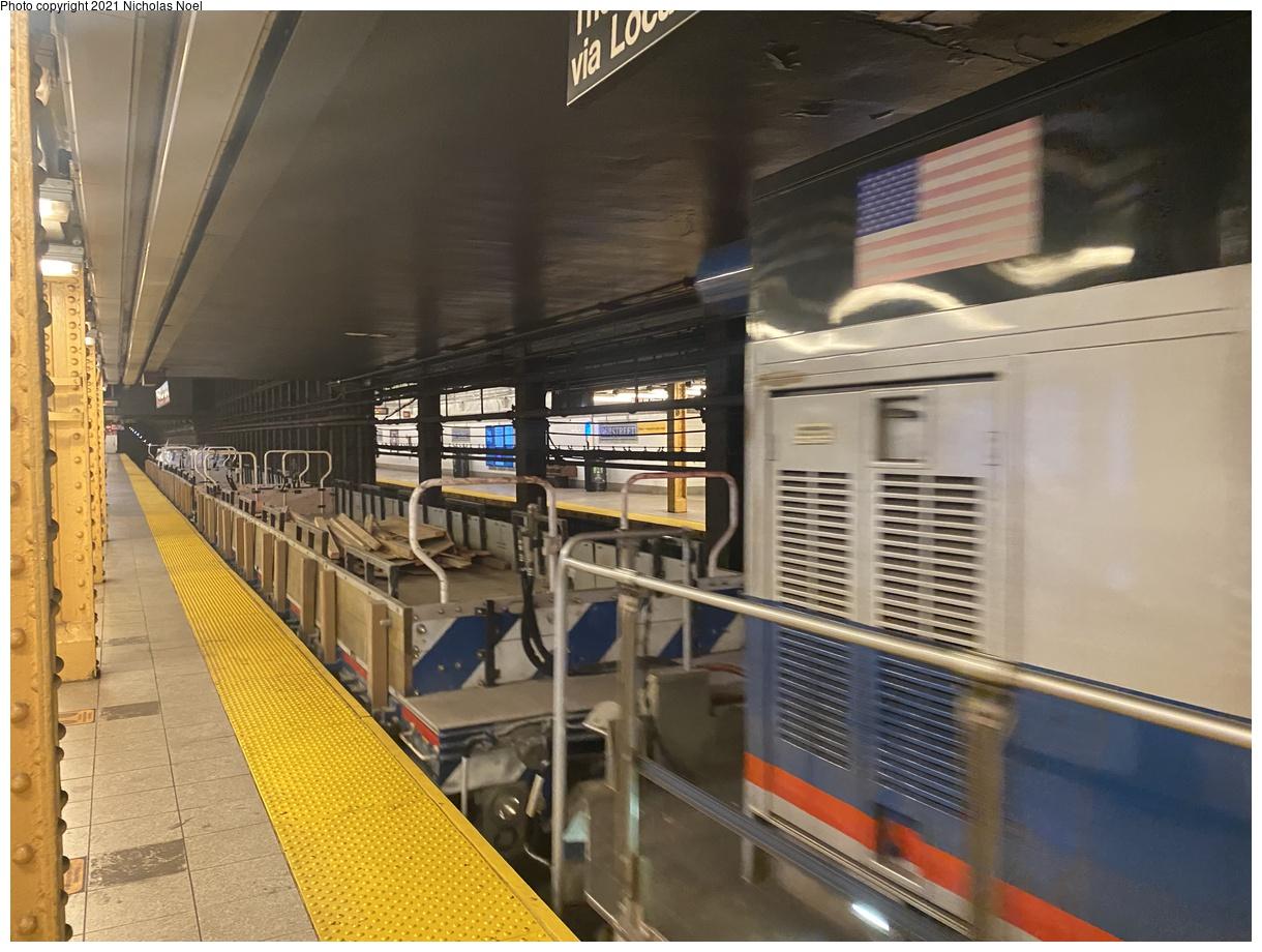(375k, 1220x920)<br><b>Country:</b> United States<br><b>City:</b> New York<br><b>System:</b> New York City Transit<br><b>Line:</b> IRT East Side Line<br><b>Location:</b> 96th Street<br><b>Route:</b> Work Service<br><b>Car:</b> BMT Elevated Gate Car  <br><b>Photo by:</b> Nicholas Noel<br><b>Date:</b> 7/29/2021<br><b>Viewed (this week/total):</b> 6 / 37