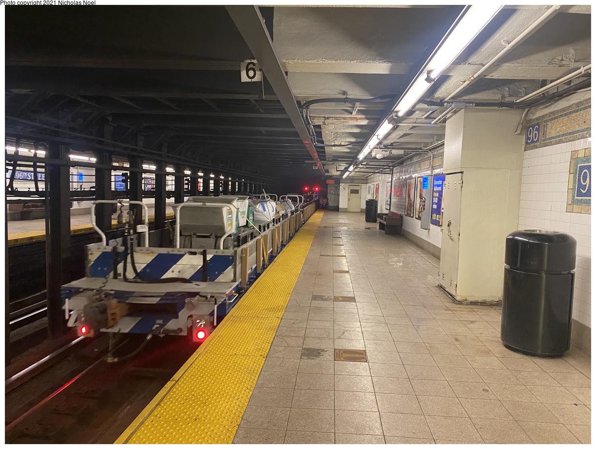 (426k, 1220x920)<br><b>Country:</b> United States<br><b>City:</b> New York<br><b>System:</b> New York City Transit<br><b>Line:</b> IRT East Side Line<br><b>Location:</b> 96th Street<br><b>Route:</b> Work Service<br><b>Car:</b> BMT Elevated Gate Car  <br><b>Photo by:</b> Nicholas Noel<br><b>Date:</b> 7/29/2021<br><b>Viewed (this week/total):</b> 5 / 45