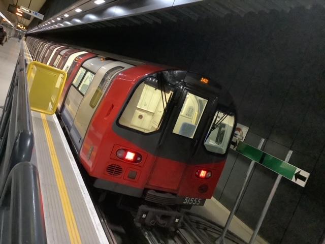 (103k, 640x480)<br><b>Country:</b> United Kingdom<br><b>City:</b> London<br><b>System:</b> London Underground<br><b>Line:</b> Northern<br><b>Location:</b> Battersea Power Station<br><b>Photo by:</b> Rob Morel<br><b>Date:</b> 9/20/2021<br><b>Notes:</b> First day of operations.<br><b>Viewed (this week/total):</b> 6 / 46