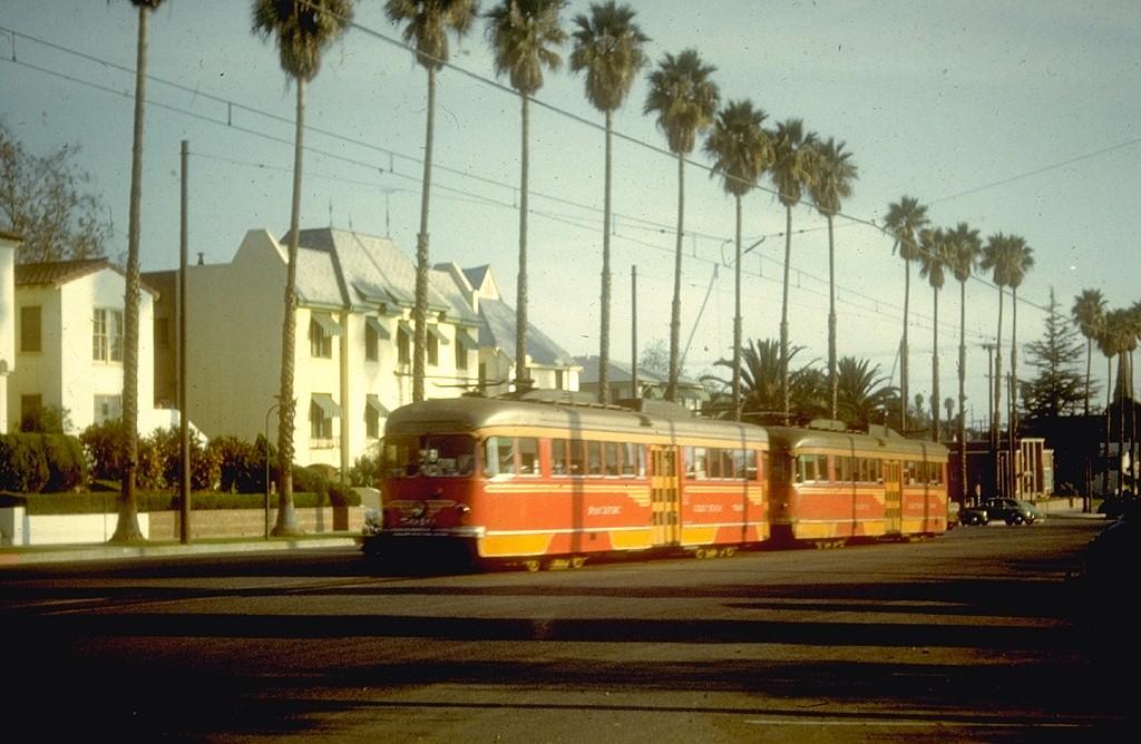 (182k, 1024x668)<br><b>Country:</b> United States<br><b>City:</b> Los Angeles, CA<br><b>System:</b> LARY/LATL/PE/LAMTA<br><b>Car:</b> PCC 5010 <br><b>Collection of:</b> Joe Testagrose<br><b>Date:</b> 10/1950<br><b>Notes:</b> Pacific Electric<br><b>Viewed (this week/total):</b> 0 / 17055