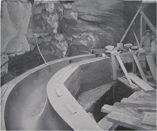 (89k, 599x501)<br><b>Country:</b> United States<br><b>City:</b> New York<br><b>System:</b> New York City Transit<br><b>Location:</b> Interborough Subway<br><b>Photo by:</b> IRT Company<br><b>Date:</b> 1904<br><b>Notes:</b> Concrete sewer back of electric duct manhole, Broadway and 58th Street<br><b>Viewed (this week/total):</b> 4 / 6929