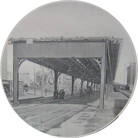(59k, 463x461)<br><b>Country:</b> United States<br><b>City:</b> New York<br><b>System:</b> New York City Transit<br><b>Location:</b> Interborough Subway<br><b>Photo by:</b> IRT Company<br><b>Date:</b> 1904<br><b>Notes:</b> Two-column bent viaduct<br><b>Viewed (this week/total):</b> 2 / 5771