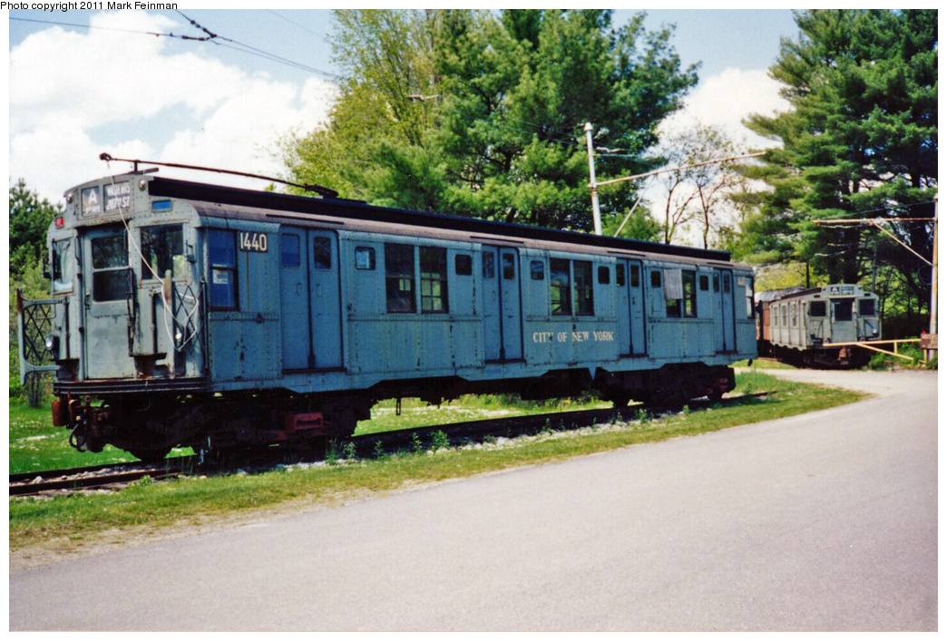 (391k, 1044x707)<br><b>Country:</b> United States<br><b>City:</b> Kennebunk, ME<br><b>System:</b> Seashore Trolley Museum<br><b>Car:</b> R-7 (American Car & Foundry, 1937) 1440 <br><b>Photo by:</b> Mark S. Feinman<br><b>Date:</b> 9/5/1994<br><b>Viewed (this week/total):</b> 2 / 5574
