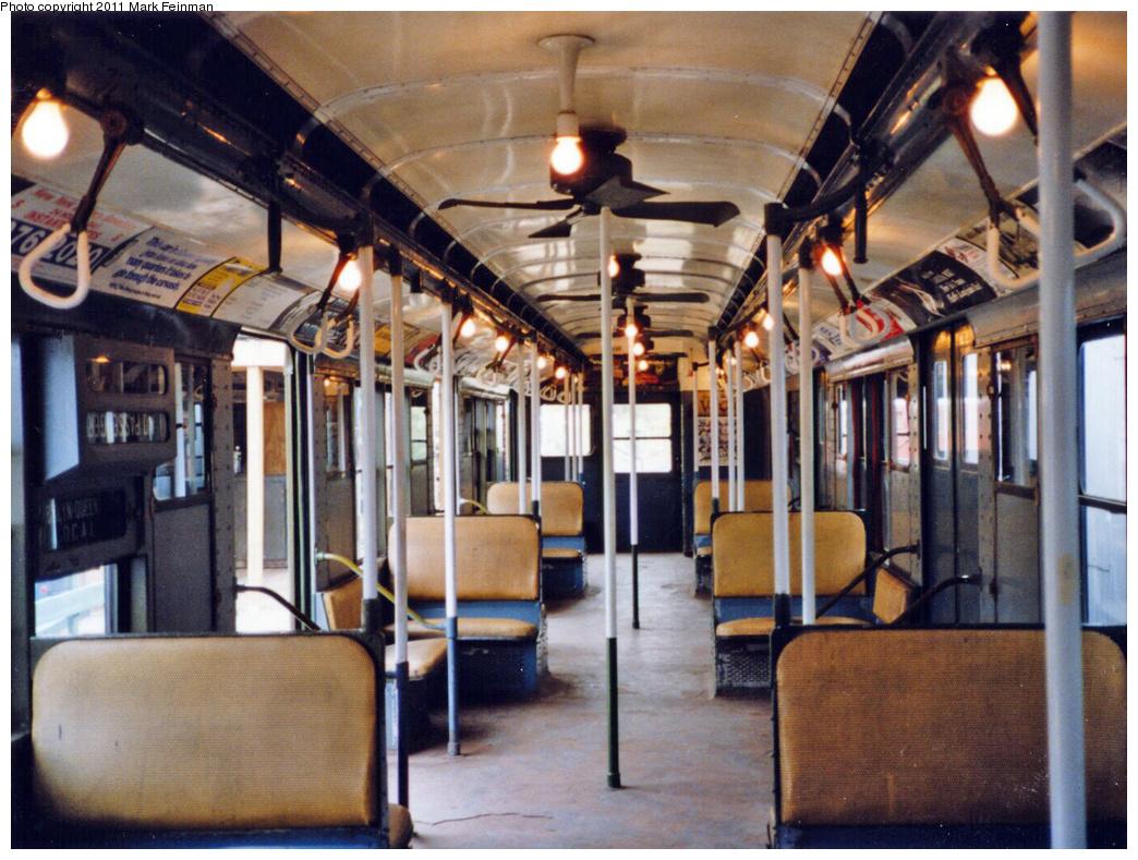(418k, 1044x789)<br><b>Country:</b> United States<br><b>City:</b> East Haven/Branford, Ct.<br><b>System:</b> Shore Line Trolley Museum<br><b>Car:</b> R-9 (American Car & Foundry, 1940) 1689 <br><b>Photo by:</b> Mark S. Feinman<br><b>Date:</b> 10/8/1994<br><b>Viewed (this week/total):</b> 19 / 13122