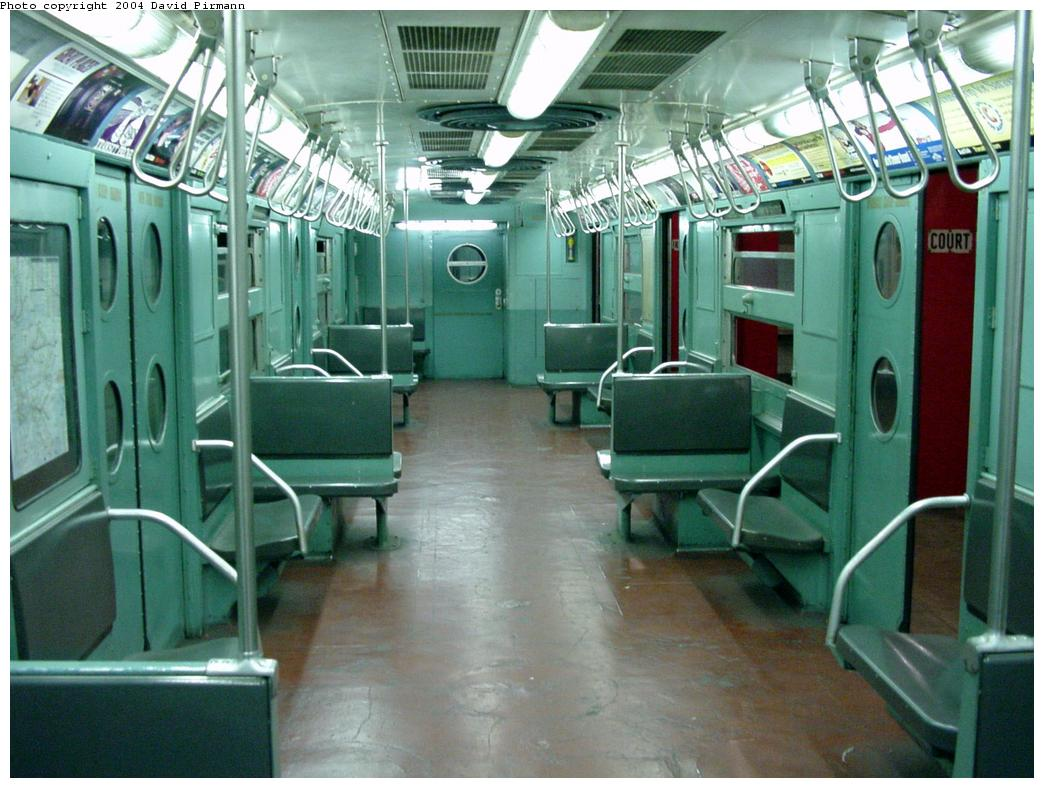 (134k, 1044x788)<br><b>Country:</b> United States<br><b>City:</b> New York<br><b>System:</b> New York City Transit<br><b>Location:</b> New York Transit Museum<br><b>Car:</b> R-11 (Budd, 1949) 8013 <br><b>Photo by:</b> David Pirmann<br><b>Date:</b> 3/12/2000<br><b>Viewed (this week/total):</b> 9 / 26080
