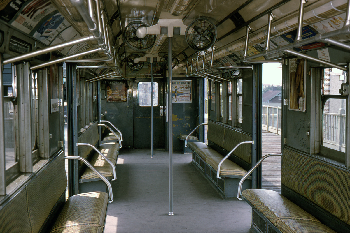 (516k, 1200x800)<br><b>Country:</b> United States<br><b>City:</b> New York<br><b>System:</b> New York City Transit<br><b>Line:</b> IRT White Plains Road Line<br><b>Route:</b> 2<br><b>Car:</b> R-14 (American Car & Foundry, 1949) 5912 <br><b>Collection of:</b> David Pirmann<br><b>Date:</b> 8/16/1964<br><b>Viewed (this week/total):</b> 4 / 15402