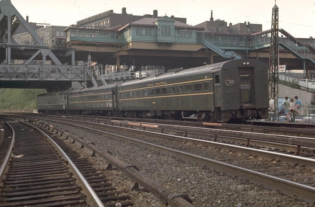 (198k, 1024x673)<br><b>Country:</b> United States<br><b>City:</b> New York<br><b>System:</b> Metro-North Railroad (or Amtrak or Predecessor RR)<br><b>Line:</b> Metro North-Hudson Line<br><b>Location:</b> Marble Hill<br><b>Car:</b> MNRR ACMU 1145 <br><b>Photo by:</b> Joe Testagrose<br><b>Date:</b> 5/31/1970<br><b>Viewed (this week/total):</b> 0 / 5361