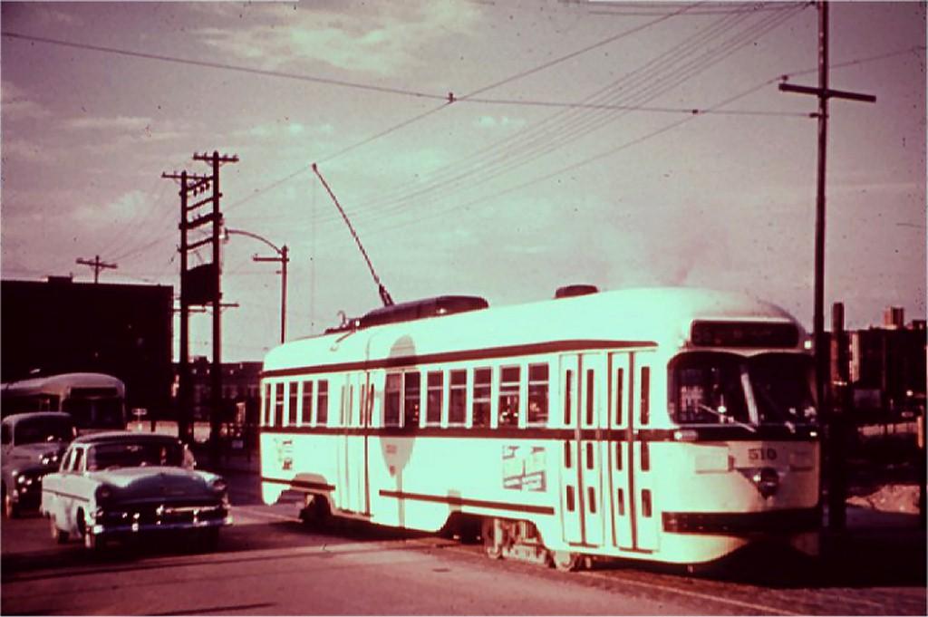 (134k, 1024x681)<br><b>Country:</b> United States<br><b>City:</b> Kansas City, MO<br><b>System:</b> Kansas City Public Service<br><b>Route:</b> Rt. 55<br><b>Car:</b> PCC 510 <br><b>Collection of:</b> Joe Testagrose<br><b>Viewed (this week/total):</b> 0 / 13607