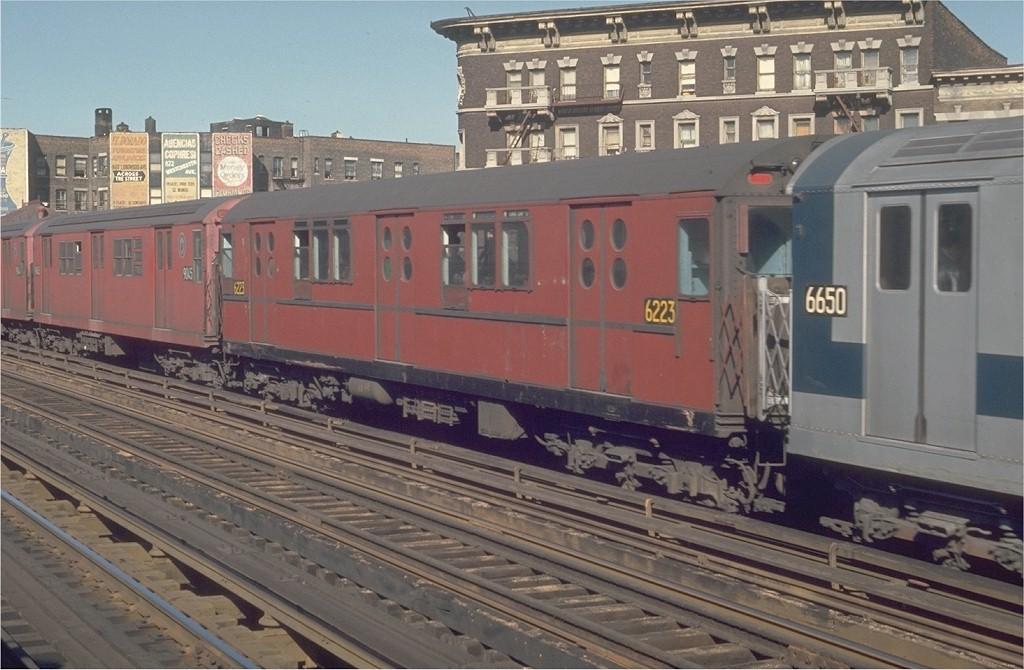 (186k, 1024x670)<br><b>Country:</b> United States<br><b>City:</b> New York<br><b>System:</b> New York City Transit<br><b>Line:</b> IRT White Plains Road Line<br><b>Location:</b> Prospect Avenue<br><b>Route:</b> 5<br><b>Car:</b> R-15 (American Car & Foundry, 1950) 6223 <br><b>Photo by:</b> Joe Testagrose<br><b>Date:</b> 5/30/1970<br><b>Viewed (this week/total):</b> 0 / 3111