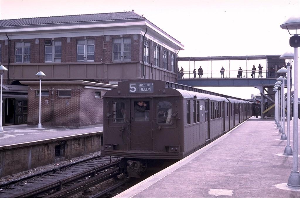 (200k, 1024x678)<br><b>Country:</b> United States<br><b>City:</b> New York<br><b>System:</b> New York City Transit<br><b>Location:</b> Coney Island/Stillwell Avenue<br><b>Route:</b> Fan Trip<br><b>Car:</b> BMT D-Type Triplex 6019 <br><b>Photo by:</b> Steve Zabel<br><b>Collection of:</b> Joe Testagrose<br><b>Date:</b> 3/23/1974<br><b>Viewed (this week/total):</b> 0 / 3979