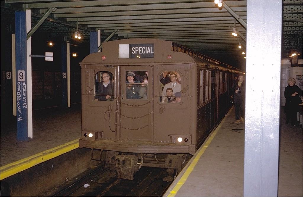 (207k, 1024x666)<br><b>Country:</b> United States<br><b>City:</b> New York<br><b>System:</b> New York City Transit<br><b>Line:</b> BMT Culver Line<br><b>Location:</b> 9th Avenue (Lower Level)<br><b>Route:</b> Fan Trip<br><b>Car:</b> BMT D-Type Triplex 6019 <br><b>Photo by:</b> Steve Zabel<br><b>Collection of:</b> Joe Testagrose<br><b>Date:</b> 3/23/1974<br><b>Viewed (this week/total):</b> 0 / 9053