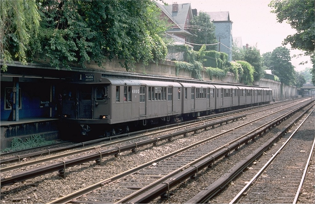 (298k, 1024x663)<br><b>Country:</b> United States<br><b>City:</b> New York<br><b>System:</b> New York City Transit<br><b>Line:</b> BMT Brighton Line<br><b>Location:</b> Beverley Road<br><b>Route:</b> Fan Trip<br><b>Car:</b> BMT D-Type Triplex 6095 <br><b>Photo by:</b> Doug Grotjahn<br><b>Collection of:</b> Joe Testagrose<br><b>Date:</b> 7/4/1976<br><b>Viewed (this week/total):</b> 0 / 4170