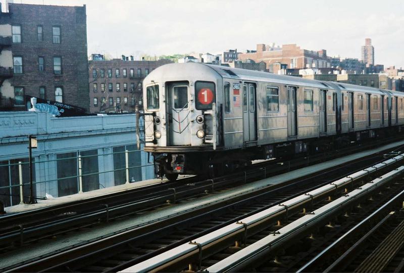 (74k, 800x540)<br><b>Country:</b> United States<br><b>City:</b> New York<br><b>System:</b> New York City Transit<br><b>Line:</b> IRT West Side Line<br><b>Location:</b> 207th Street<br><b>Route:</b> 1<br><b>Car:</b> R-62A (Bombardier, 1984-1987) 2460 <br><b>Photo by:</b> Gary Chatterton<br><b>Date:</b> 5/1/2005<br><b>Viewed (this week/total):</b> 0 / 3399