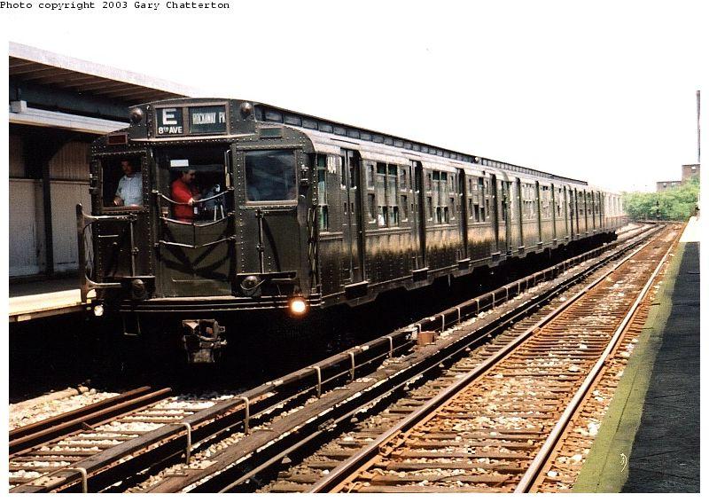 (109k, 800x566)<br><b>Country:</b> United States<br><b>City:</b> New York<br><b>System:</b> New York City Transit<br><b>Line:</b> IND Rockaway Line<br><b>Location:</b> Beach 90th Street/Holland<br><b>Route:</b> Fan Trip<br><b>Car:</b> R-4 (American Car & Foundry, 1932-1933) 484 <br><b>Photo by:</b> Gary Chatterton<br><b>Date:</b> 6/28/2003<br><b>Viewed (this week/total):</b> 3 / 4813