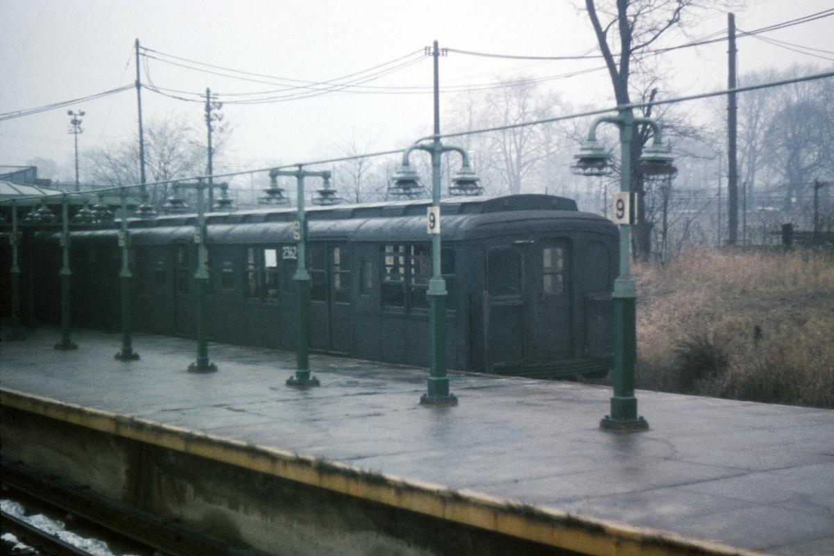 (390k, 1200x800)<br><b>Country:</b> United States<br><b>City:</b> New York<br><b>System:</b> New York City Transit<br><b>Line:</b> BMT West End Line<br><b>Location:</b> 9th Avenue<br><b>Car:</b> BMT A/B-Type Standard 2362 <br><b>Collection of:</b> David Pirmann<br><b>Date:</b> 12/24/1965<br><b>Viewed (this week/total):</b> 1 / 4729