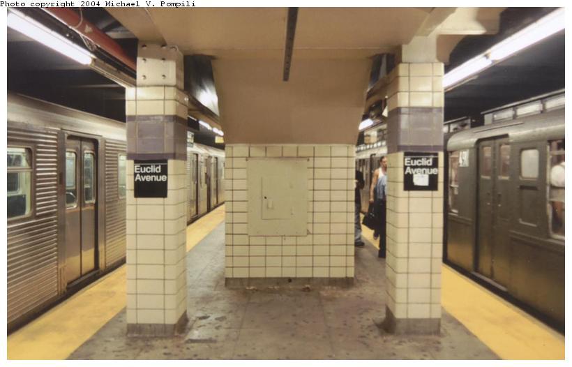 (67k, 820x526)<br><b>Country:</b> United States<br><b>City:</b> New York<br><b>System:</b> New York City Transit<br><b>Line:</b> IND Fulton Street Line<br><b>Location:</b> Euclid Avenue<br><b>Route:</b> Fan Trip<br><b>Photo by:</b> Michael Pompili<br><b>Date:</b> 8/24/2003<br><b>Viewed (this week/total):</b> 3 / 4312