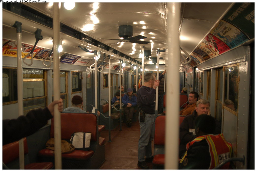 (181k, 1044x701)<br><b>Country:</b> United States<br><b>City:</b> New York<br><b>System:</b> New York City Transit<br><b>Route:</b> Fan Trip<br><b>Car:</b> R-4 (American Car & Foundry, 1932-1933) 401 <br><b>Photo by:</b> David Pirmann<br><b>Date:</b> 2/29/2004<br><b>Viewed (this week/total):</b> 0 / 12826