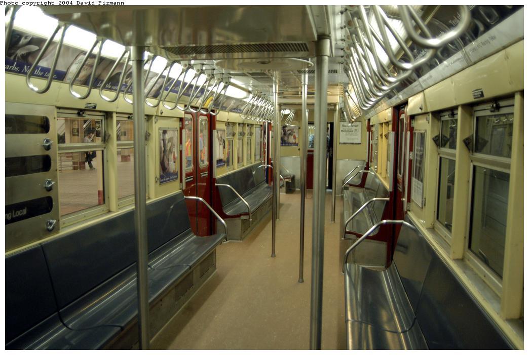 (153k, 1044x701)<br><b>Country:</b> United States<br><b>City:</b> New York<br><b>System:</b> New York City Transit<br><b>Line:</b> IRT Times Square-Grand Central Shuttle<br><b>Location:</b> Grand Central<br><b>Route:</b> Fan Trip<br><b>Car:</b> R-33 Main Line (St. Louis, 1962-63) 9011 <br><b>Photo by:</b> David Pirmann<br><b>Date:</b> 4/17/2004<br><b>Viewed (this week/total):</b> 1 / 7515