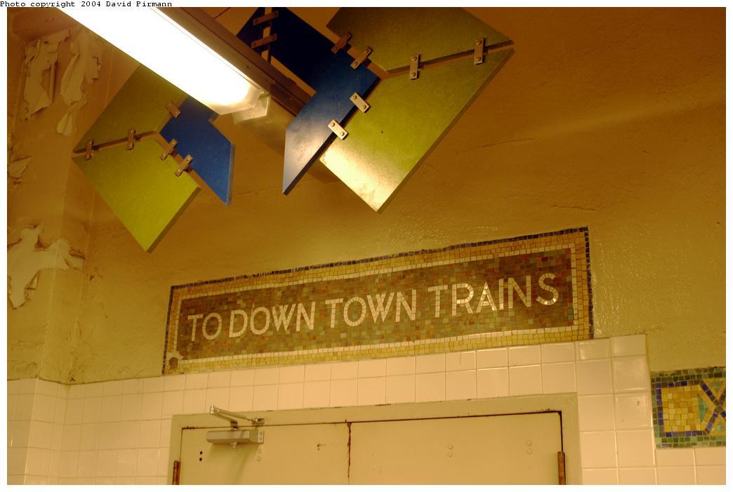 (117k, 1044x701)<br><b>Country:</b> United States<br><b>City:</b> New York<br><b>System:</b> New York City Transit<br><b>Line:</b> IRT Pelham Line<br><b>Location:</b> Westchester Square<br><b>Photo by:</b> David Pirmann<br><b>Date:</b> 4/17/2004<br><b>Artwork:</b> <i>Title unknown</i>, artist unknown<br><b>Viewed (this week/total):</b> 3 / 4096